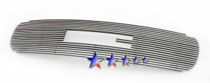 Dale's - G65703A - Dale's Main Upper Polished Aluminum Billet Grille - '99-02 GMC Sierra Bolt Over/Overlay/Bolton