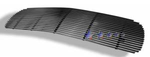 Dale's - G65704A - Dale's Main Upper Polished Aluminum Billet Grille - '99-02 GMC Sierra Bolt Over/Overlay/Bolton