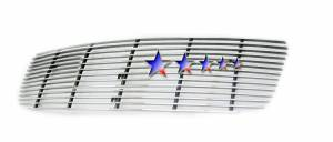 Dale's - G65772A - Dale's Main Upper Polished Aluminum Billet Grille - '03-06 GMC Sierra, Sierra 1500, Sierra 2500, Sierra 3500 Bolt Over/Overlay/Bolton
