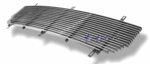 Dale's - G85371A - Dale's Main Upper Polished Aluminum Billet Grille - '03-06 GMC Sierra, Sierra 1500, Sierra 2500, Sierra 3500 Replacement(Cutting Required)