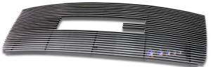 Dale's - G66516A - Dale's Main Upper Polished Aluminum Billet Grille - '07-10 GMC Sierra, Sierra 2500, Sierra 3500 Bolt Over/Overlay/Bolton