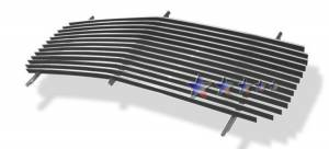 Dale's - G85012A - Dale's Main Upper Polished Aluminum Billet Grille - '94-99 GMC Suburban Replacement(Cutting Required)