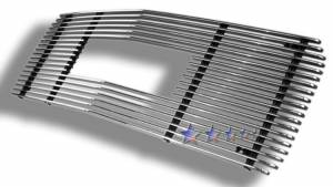 Dale's - G65714A - Dale's Main Upper Polished Aluminum Billet Grille - '94-99 GMC Suburban Bolt Over/Overlay/Bolton