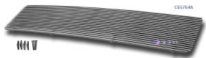Dale's - G65764A - Dale's Main Upper Polished Aluminum Billet Grille - '03-07 GMC Topkick C5500, Topkick C4500 Bolt Over/Overlay/Bolton