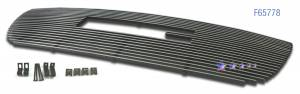 Dale's - G65778A - Dale's Main Upper Polished Aluminum Billet Grille - '07-11 GMC Yukon Bolt Over/Overlay/Bolton