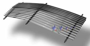 Dale's - G85010A - Dale's Main Upper Polished Aluminum Billet Grille - '92-93 GMC Yukon Replacement(Cutting Required)