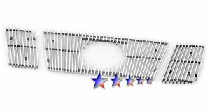 Dale's - Nissan 2008-2011 Titan (Main|3 Section) Polished Aluminum Vertical Billet Grilles