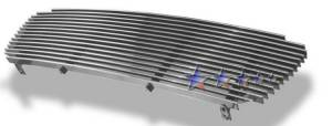 Dale's - T85365A - Dale's Main Upper Polished Aluminum Billet Grille - '01-04 Toyota Tacoma Replacement (Cutting Not Required)