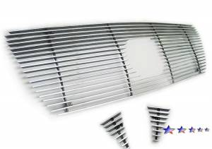 Dale's - T66456A - Dale's Main Upper Polished Aluminum Billet Grille - '05-10 Toyota Tacoma Bolt Over/Overlay/Bolton (Drilling Required)