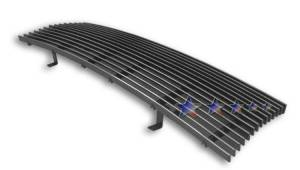 Dale's - T85463A - Dale's Main Upper Polished Aluminum Billet Grille - '98-00 Toyota Tacoma Replacement (Cutting Not Required)