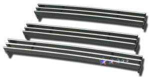 Dale's - T65459A - Dale's Lower Bumper Polished Aluminum Billet Grille - '07-09 Toyota Tundra Bolt Over/Overlay/Bolton (Drilling Required)