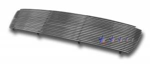 Dale's - T85483A - Dale's Main Upper Polished Aluminum Billet Grille - '99-02 Toyota Tundra Replacement(Cutting Required)