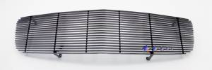 Dale's - Dodge 2005-2010 Charger (Main) Black Powder Coated Aluminum Billet Grille
