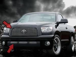 Dale's - Toyota 2007-2009 Tundra (Complete Set) Polished Aluminum Billet Grilles