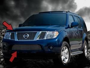 Dale's - Nissan 2008-2011 Pathfinder (Complete Set) Polished Aluminum Billet Grilles