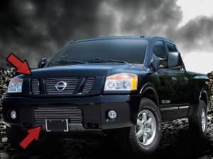 Dale's - Nissan 2004-2007 Titan (Complete Set) Polished Aluminum Billet Grilles