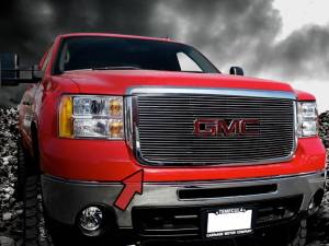 Dale's - GMC 2007-2010 Sierra 2500HD|3500HD (Polished Aluminum Billet Grille)