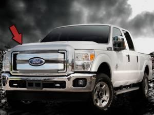 Dale's - Ford 2011-2012 F250|F350 (Polished Aluminum Billet Grille)
