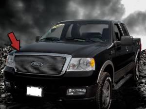 Dale's - Ford 2005-2008 F150 (Polished Aluminum Billet Grille)