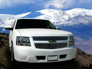 Dale's - C66451A - Dale's Main Upper Polished Aluminum Billet Grille - '07-11 Chevy Tahoe