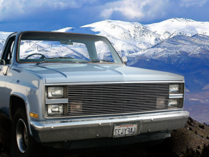 Dale's - Chevy 1981-1987 C/K Pickup|Suburban|Blazer (Main) Polished Aluminum Billet Grille