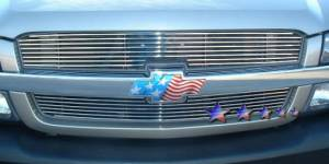 Dale's - Chevy 2003-2006 Avalanche (Main & Upper) Polished Aluminum Billet Grilles