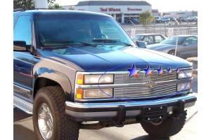 Dale's - Chevy 1988-1993 Blazer (Main & Upper) Polished Aluminum Billet Grilles