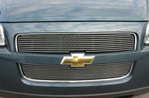 Dale's - Chevy 2005-2008 Uplander (Main & Upper) Polished Aluminum Billet Grilles