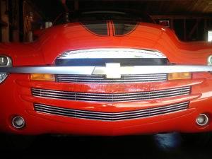 Dale's - Chevy 2003-2006 SSR (Main|Upper|Lower Bumper) Polished Aluminum Billet Grilles