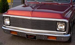 Dale's - Chevy 1969-1972 C/K Pickup (Main) Polished Aluminum Billet Grille