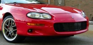 Dale's - Chevy 1993-1997 Camaro (Main) Black Powder Coated Aluminum Billet Grille