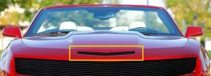 Dale's - Chevy 2010-2011 Camaro (Hood Scoop) Black Powder Coated Aluminum Billet Grille