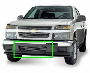 Dale's - Chevy 2004-2011 Colorado | Not for Xtreme (Lower Bumper) Polished Aluminum Billet Grille