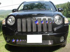 Dale's - Jeep 2006-2011 Compass (Lower Bumper) Polished Aluminum Billet Grille