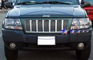 Dale's - Jeep 1999-2004 Grand Cherokee (Main|7 Section) Polished Aluminum Billet Grille