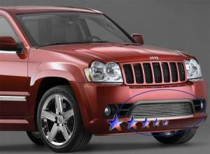 Dale's - Jeep 2009-2011 Grand Cherokee (Lower Bumper) Polished Aluminum Billet Grille