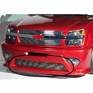 Dale's - Chevy 2003-2006 Silverado 1500 SS (Lower Bumper) Black Powder Coated Aluminum Billet Grille