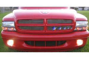 Dale's - Dodge 1997-2003 Durango (Main|2 Section) Polished Aluminum Billet Grilles