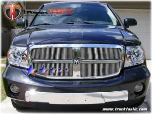 Dale's - Dodge 2007-2010 Durango (Main|2 Section) Polished Aluminum Vertical Billet Grilles