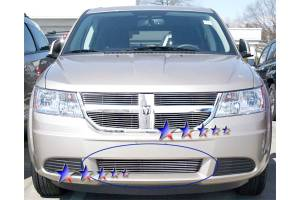 Dale's - Dodge 2009-2010 Journey R/T,SE,SXT (Lower Bumper) Polished Aluminum Billet Grille