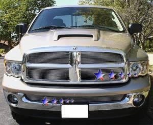 Dale's - Dodge 2002-2005 Ram (Main|2 Section) Polished Aluminum Billet Grilles