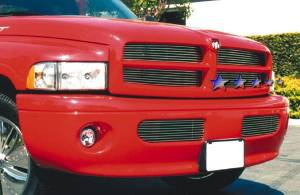 Dale's - Dodge 1999-2001 Ram Sport (Lower Bumper) Polished Aluminum Billet Grilles