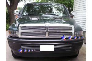 Dale's - Dodge 1994-2001 Ram (Main|4 Section) Polished Aluminum Billet Grilles