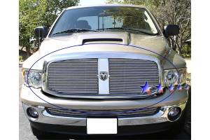 Dale's - Dodge 2006-2008 Ram (Main|2 Section) Polished Aluminum Billet Grilles