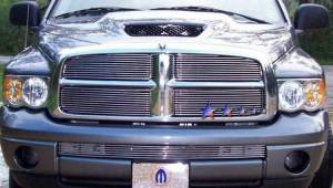 Dale's - Dodge 2002-2005 Ram (Main|4 Section) Polished Aluminum Billet Grilles
