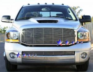 Dale's - Dodge 2006-2008 Ram Sport (Lower Bumper) Polished Aluminum Billet Grille