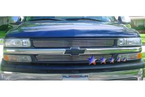 Dale's - Chevy 1999-2002 Silverado 1500 (Main & Upper) Polished Aluminum Billet Grilles
