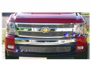 Dale's - Chevy 2007-2010 Silverado 1500 (Lower Bumper) Polished Aluminum Billet Grille