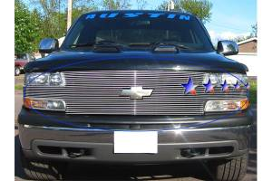 Dale's - Chevy 1999-2002 Silverado 1500 (Full Face|Main) Polished Aluminum Billet Grille