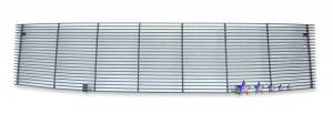 Dale's - 1-Piece Black Horizontal Billet Main Grille